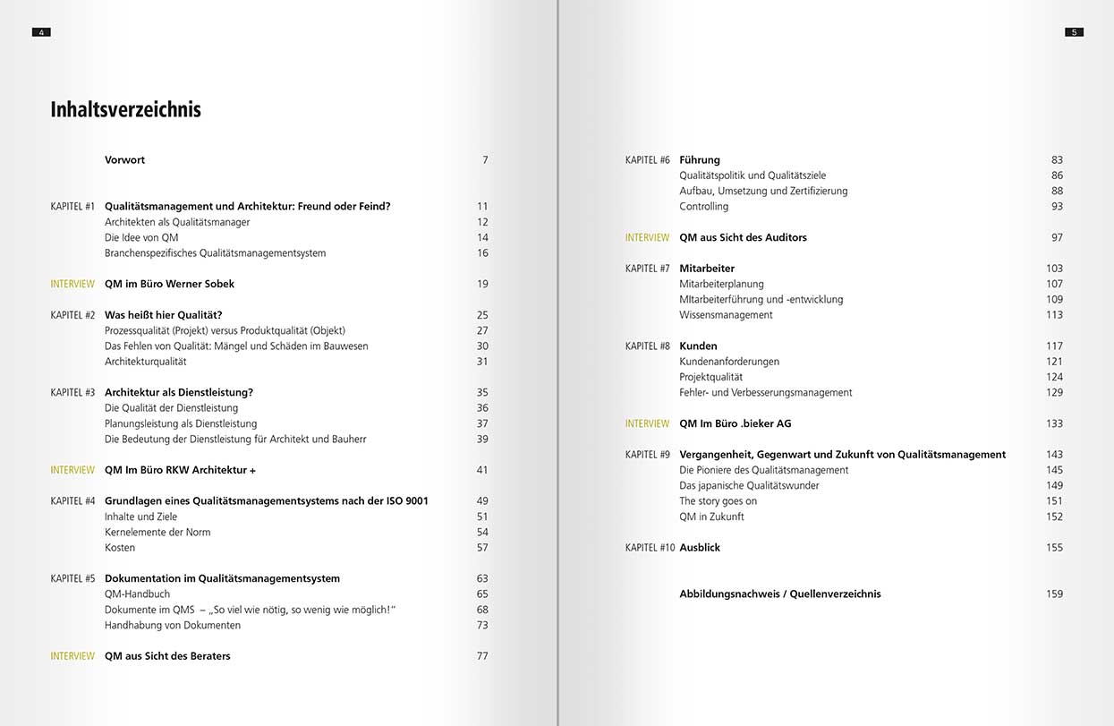 Buch: Qualitätsmanagement für Architekten und Ingenieure, Johannes Pellkofer