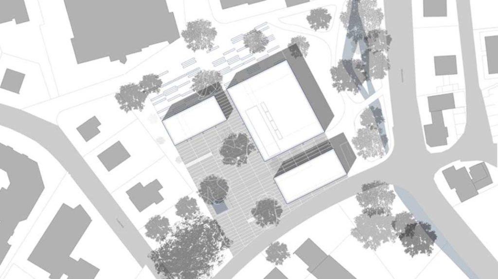 Architekturbüro Johannes Pellkofer   WBW Neue Mitte Merzhausen Lageplan