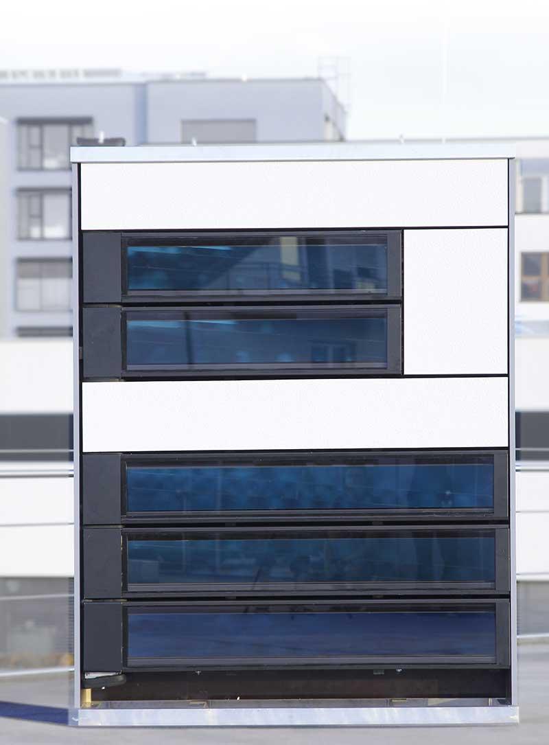 © Fraunhofer ISE - Fassaden Mock-Up